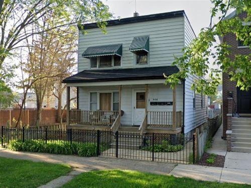 5132 W Strong, Chicago, IL 60630 Jefferson Park