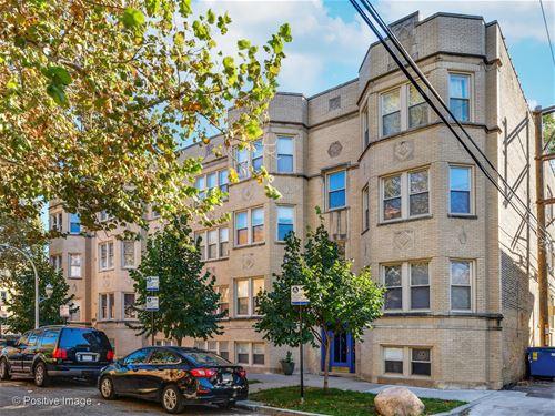 2309 W Rosemont Unit 8, Chicago, IL 60659 West Ridge