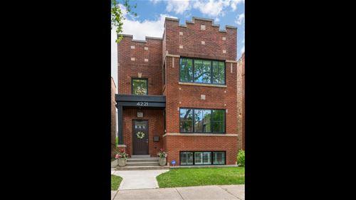 4221 N Leavitt, Chicago, IL 60618 Northcenter