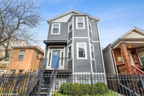 2858 W Palmer, Chicago, IL 60647 Logan Square