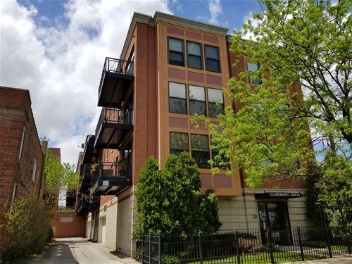 3944 N Claremont Unit 306, Chicago, IL 60618 Northcenter