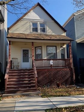 3723 N Francisco, Chicago, IL 60618 Irving Park