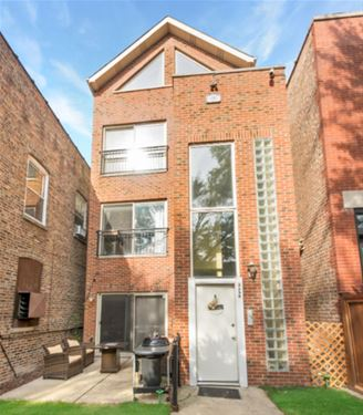 2256 W Erie Unit 1, Chicago, IL 60612 Ukrainian Village