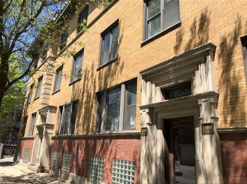 1106 W Dickens Unit 3, Chicago, IL 60614 Lincoln Park