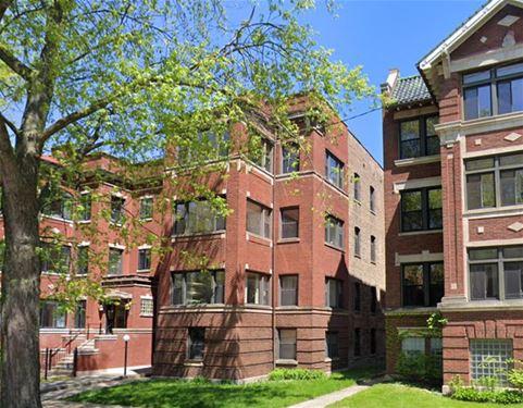 5219 S Greenwood Unit 2, Chicago, IL 60615 Hyde Park
