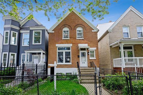 1716 N Lawndale, Chicago, IL 60647 Logan Square