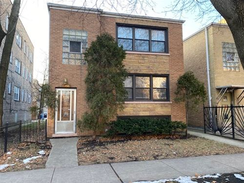 6158 N Hoyne, Chicago, IL 60659 West Ridge