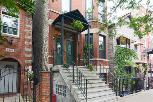 1447 W Cortez Unit GARDEN, Chicago, IL 60642 Noble Square