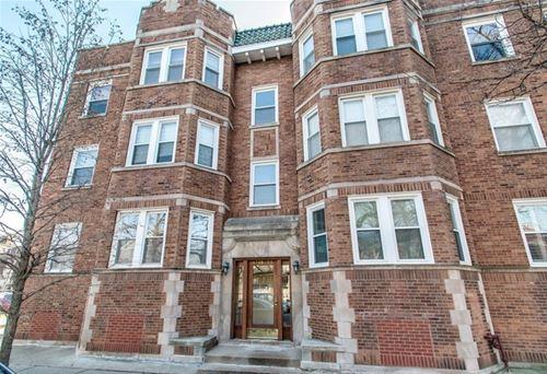 1725 W Winnemac Unit 3, Chicago, IL 60640 Ravenswood