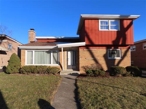 10609 S Keeler, Oak Lawn, IL 60453