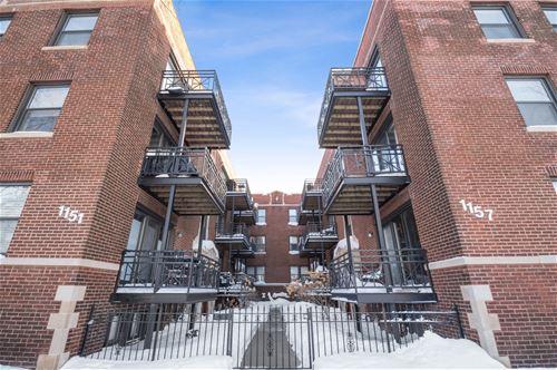 1151 W Grace Unit 3S, Chicago, IL 60613 Lakeview