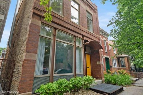 1734 N Wolcott, Chicago, IL 60622 Bucktown