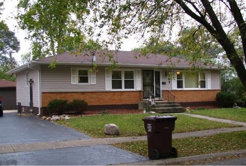 707 Travers, Chicago Heights, IL 60411