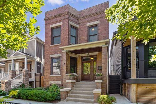 2037 W Cuyler, Chicago, IL 60618 Northcenter
