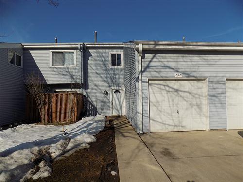 252 E Alpine Unit 252, Glendale Heights, IL 60139