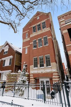 924 W Wolfram Unit 1, Chicago, IL 60657 Lakeview