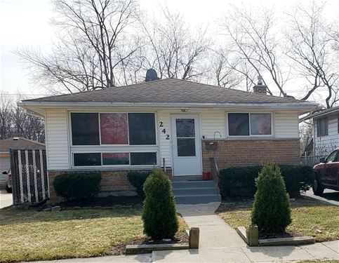 242 Hickory, Chicago Heights, IL 60411
