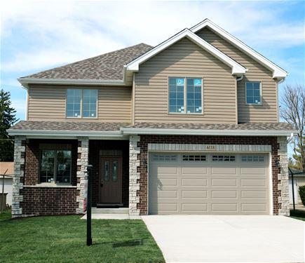 6118 W 99th, Oak Lawn, IL 60453