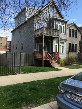 1931 N Whipple, Chicago, IL 60647