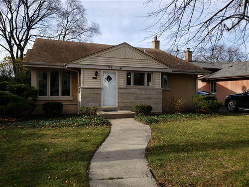 1708 S Clifton, Park Ridge, IL 60068