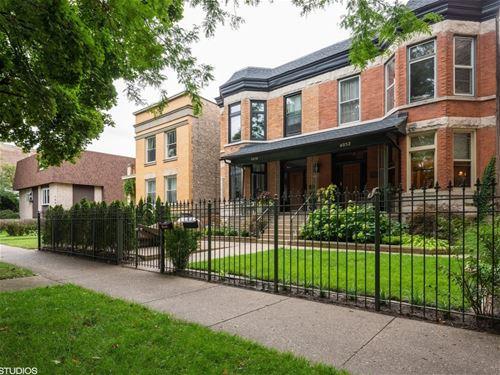 4052 N Paulina, Chicago, IL 60613