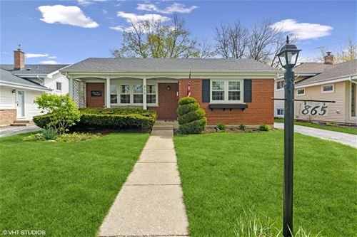 865 S Hawthorne, Elmhurst, IL 60126