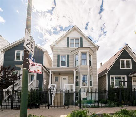 1718 N Kimball, Chicago, IL 60647