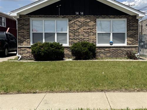 1414 Memorial, Calumet City, IL 60409