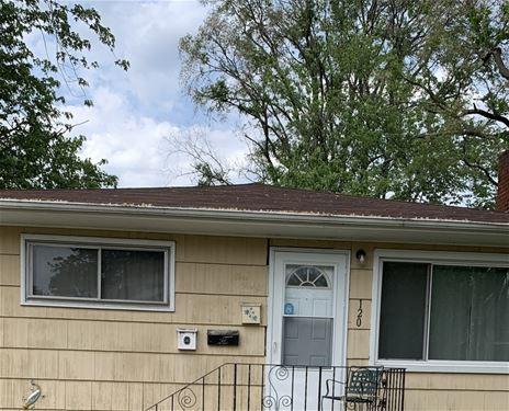 120 Webb, Calumet City, IL 60409