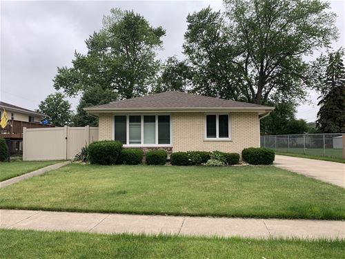 8856 Natoma, Oak Lawn, IL 60453