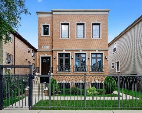 1653 N Troy, Chicago, IL 60647