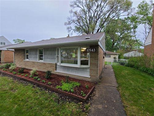 17543 Burnham, Lansing, IL 60438