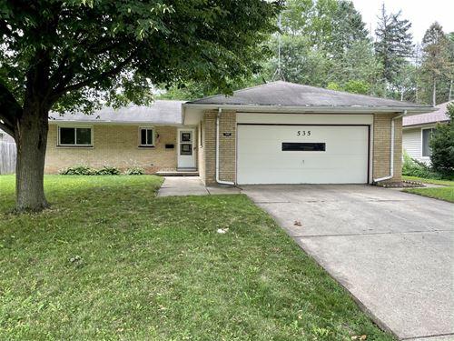 535 N Weston, Elgin, IL 60123