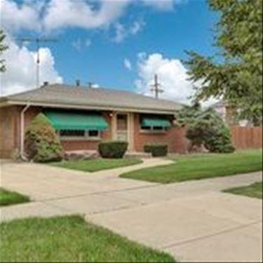 6806 W 95th, Oak Lawn, IL 60453