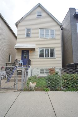 1726 N Talman, Chicago, IL 60647