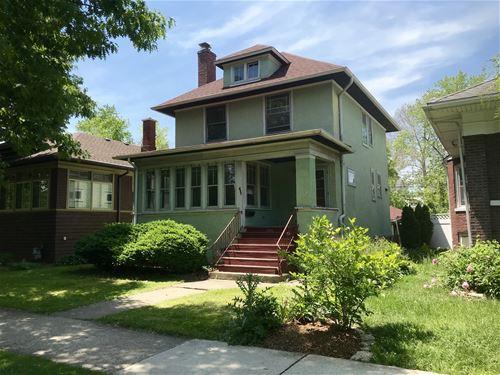 627 S Humphrey, Oak Park, IL 60304
