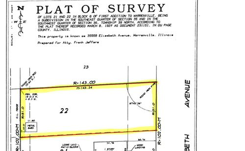 North Lot - 3S558 Elizabeth, Warrenville, IL 60555