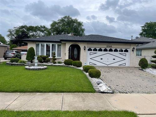 5745 W 89th, Oak Lawn, IL 60453