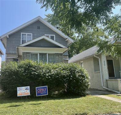 1124 S Elmwood, Oak Park, IL 60304