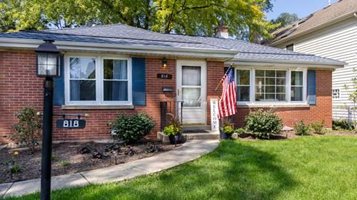 818 N Chestnut, Arlington Heights, IL 60004