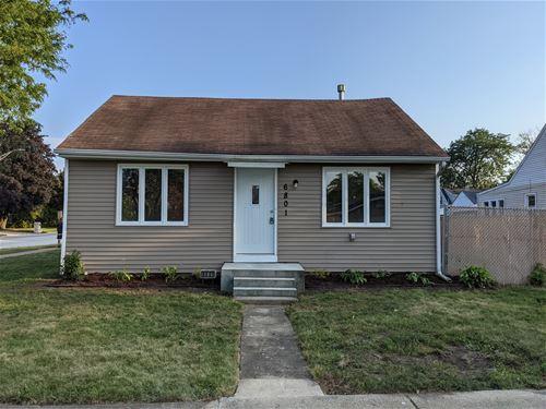6801 W 96th, Oak Lawn, IL 60453