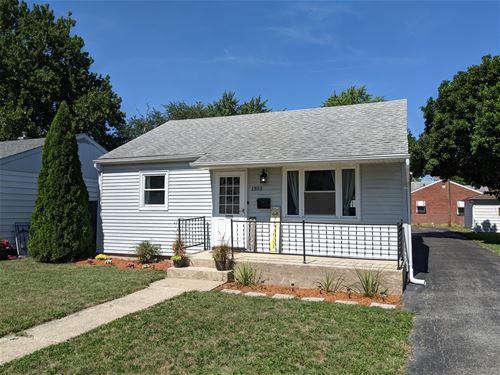 1353 Morgan, Joliet, IL 60436