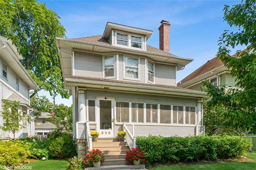 638 Gunderson, Oak Park, IL 60304