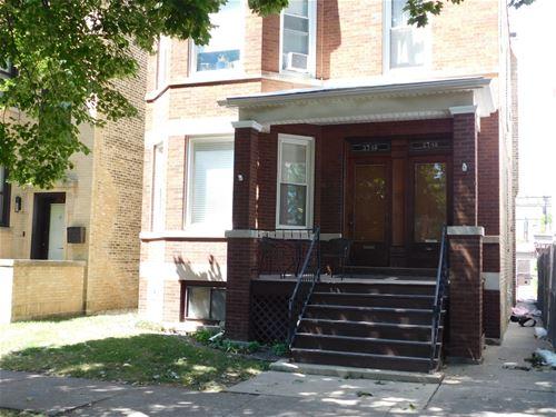 3748 N Claremont, Chicago, IL 60618