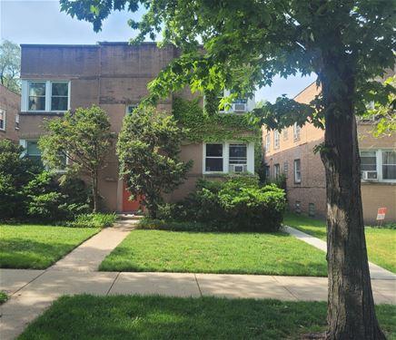 1402 Brummel Unit 2W, Evanston, IL 60202