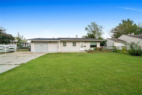 913 S Bartlett, Streamwood, IL 60107