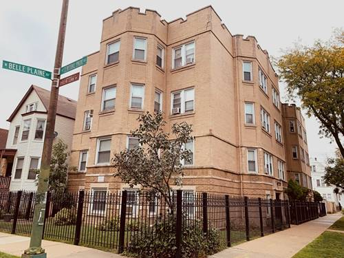 3550 W Belle Plaine Unit 1, Chicago, IL 60618