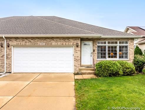 1413 Coral Bell, Joliet, IL 60435