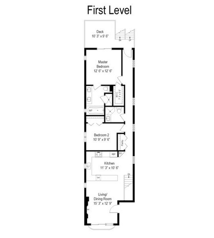 2414 W Thomas Unit 1, Chicago, IL 60622